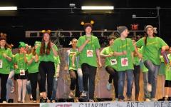 Singing, dancing, and sharing the arts