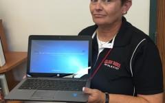 New teacher laptops debut