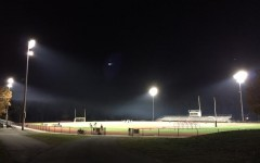 Sports schedule night practices under new stadium lights