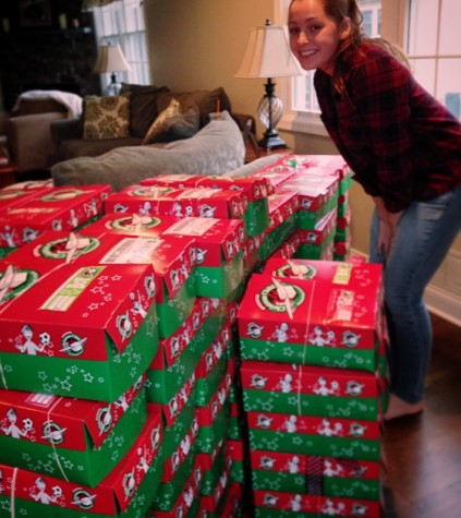 Glen Rock gifts back with Operation Christmas Child