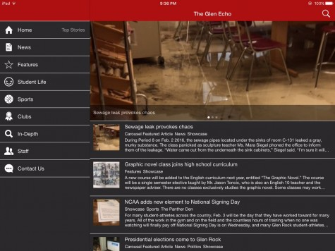 The Glen Echo releases new mobile app