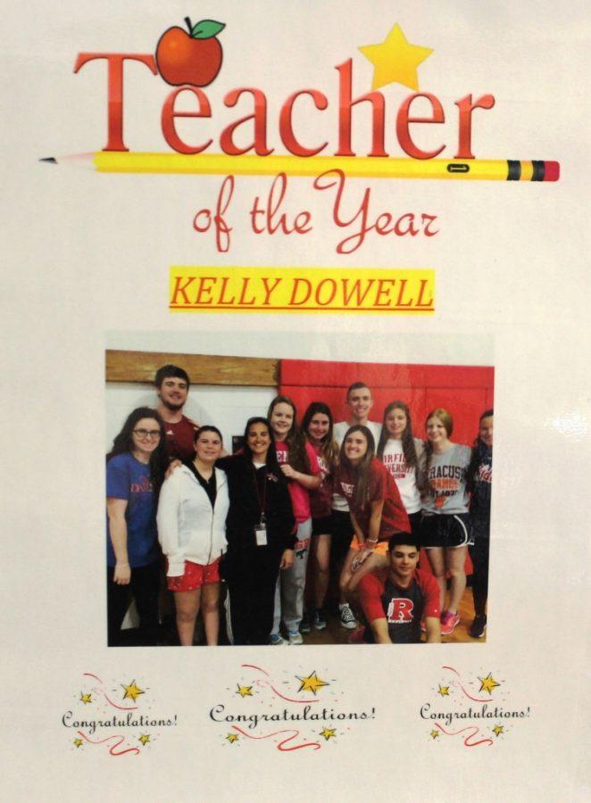 Physical education teacher named Teacher of the Year