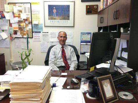 Honored guidance counselor turns off his light