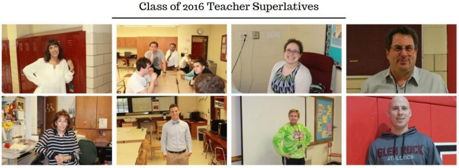 Class of 2016 Teacher Superlatives