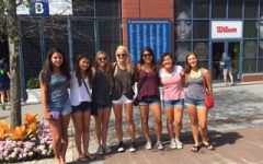 Girls' varsity tennis serves winning season