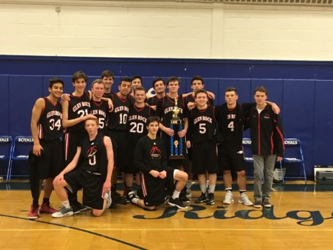 For boys basketball team, one down three to go
