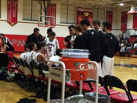 Boys varsity basketball wins at home against Rutherford