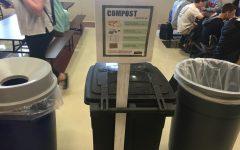 Senior girl leaves footprint on disposal system