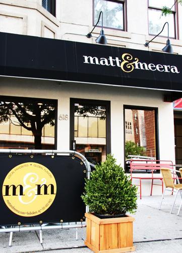 Matt & Meera: A Restaurant Critique