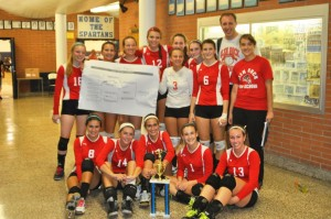 Featured: The Varsity Volleyball Team