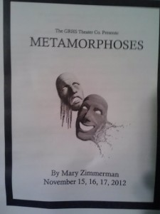 GRHS's Metamorphoses