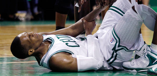 Losing key player, Rajon Rondo, to injury, the Celtics look to find a way to recover.