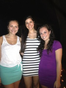 Nina LoPiccolo, Shannon Major, and Catherine McClellan, best friends and 2011 graduates from GRHS, each traveled along her own path in life after graduation.