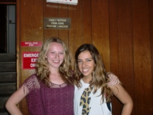 At Rock House, duo Emily Paddon and Olivia Ryan