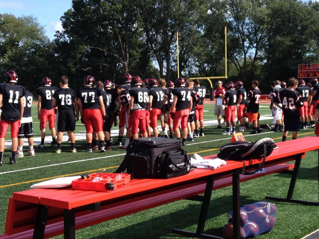 Despite being ready to begin, the players must first listen to new regulations regarding biased language according to the NJSIAA guidelines.