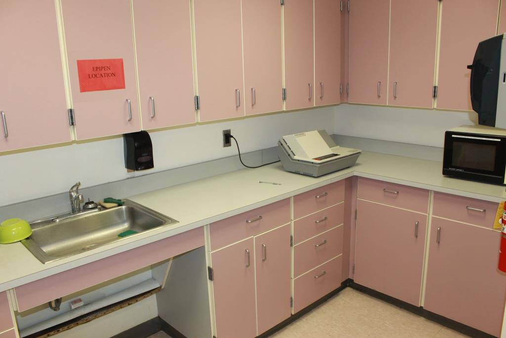So long pig-pink; the new GRHS faculty lounge features renovations planned by GRHS students.
