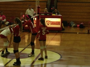 At the net, the GRHS girls' volleyball team is one of Bergen county's top contenders.