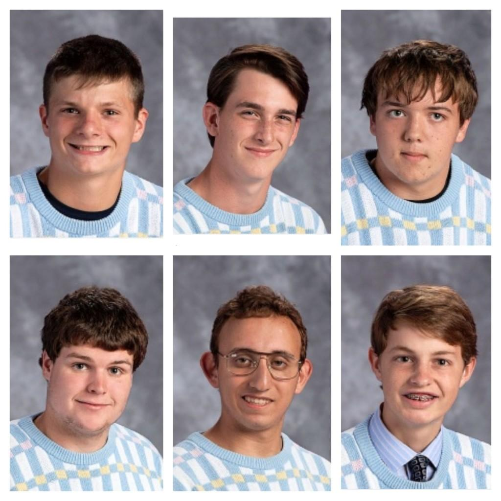 Perhaps creating a lasting memory, these photograph friendly 11th grade students all wore the same sweater to student pictures this year, continuing a Glen Rock ritual passed down throughout the ages.