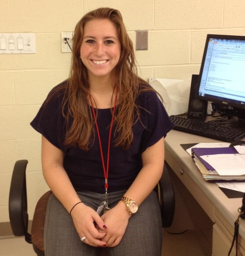 Adding more youthful energy to the math department, Miss Perry teaches Algebra and coaches Varsity cheerleading.