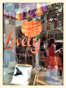 Liz Shaw's boutique, Lovely, is located in Catskill, NY.