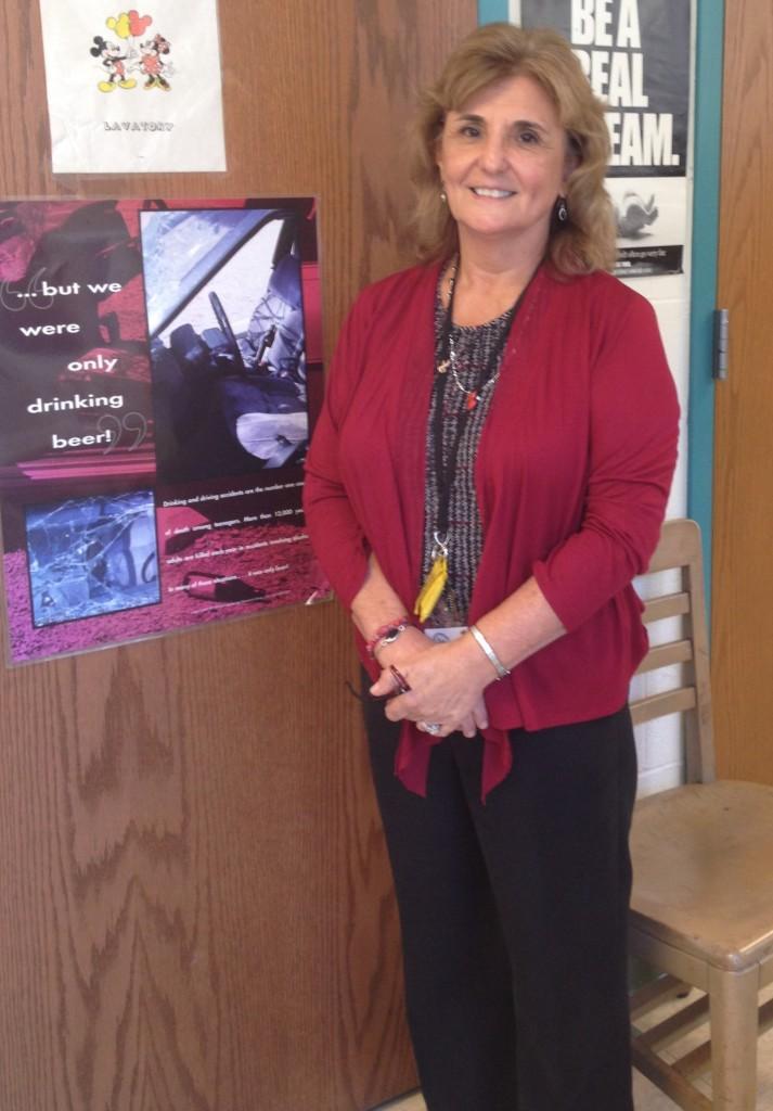 Here to help, Ms. Becker is an unsung hero of Glen Rock High School.