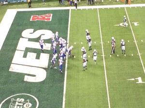 Backing their opponents into the endzone, the Jets are hungry this year on defense.
