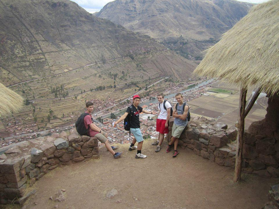 David Panger and other peers discovering what Peru has to offer.