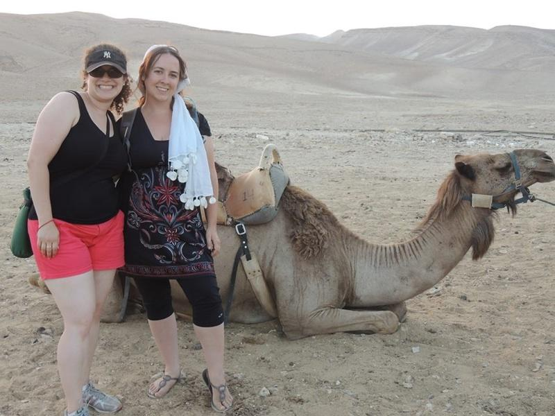 Ms.+Wittenberg+and+Ms.+Wombough+having+fun+in+Israel.