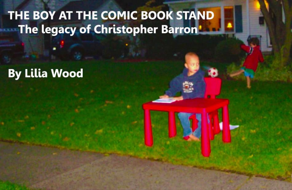 Once he sold comic books on a neighborhood corner, now his memory has filled a school.