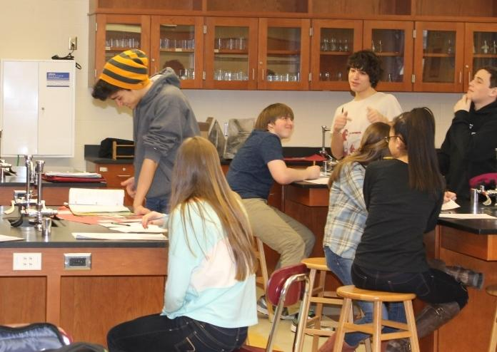 How will they fair?  The new SAT is poised to effect students of this year's freshman class (pictured above: in science class).  Most students welcome the changes with open arms.