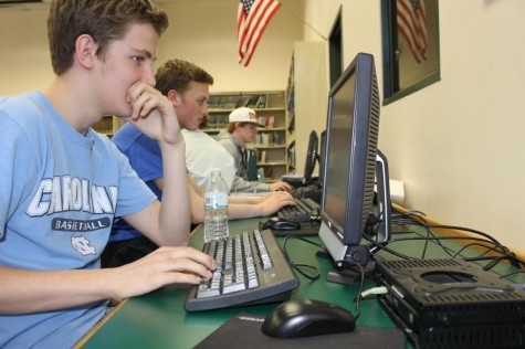 Students flock to the media center during open periods to complete assignments and homework, but the media center isn't always open to all students.  What improvements can be made to the technology at Glen Rock High School?