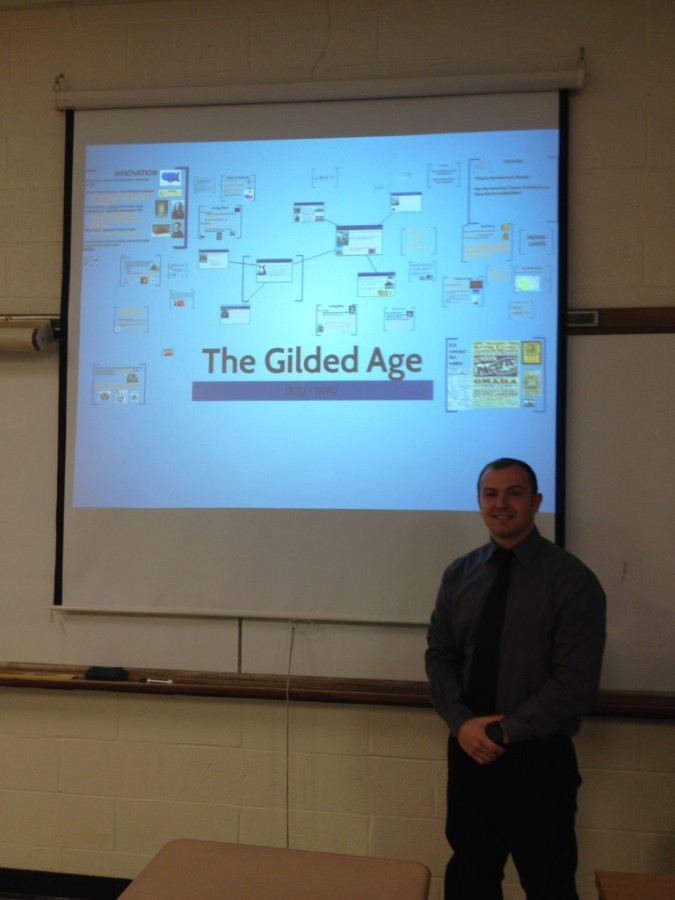 Joining the Glen Rock High School family for the last month of school, Mr. Manzo presents a Prezi.