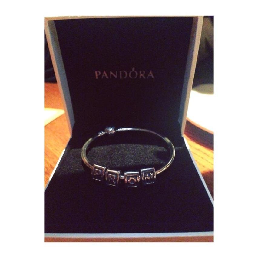 Gabby Burbano's boyfriend asked her to prom with a Pandora bracelet.