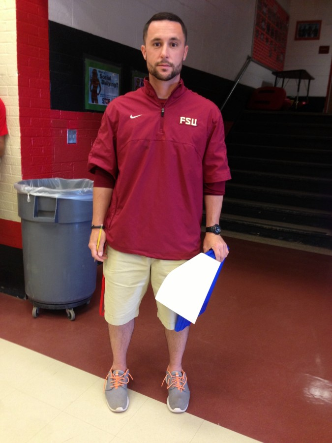 Joining the Physical Education team to replace Mr. Karcher, Mr. Gelalia is the newest member of the staff.