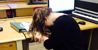 Anastasia Zenkevich is just like many other students in high school; she just can't stay awake.