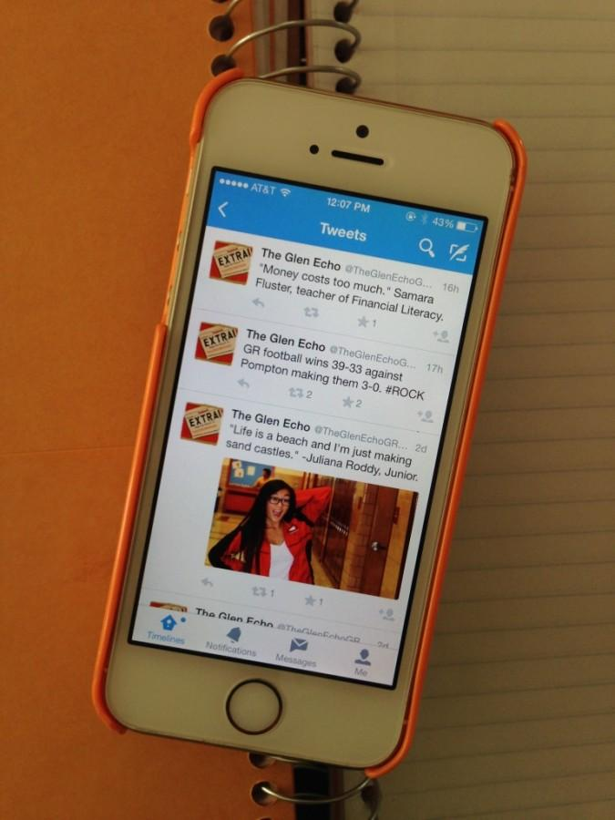 With the new Twitter accounts, students can access school news anywhere and at any time.