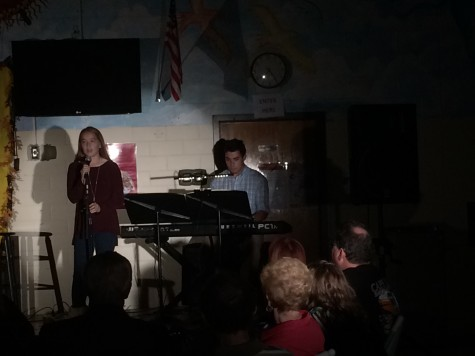 Caitlin Rundle singing