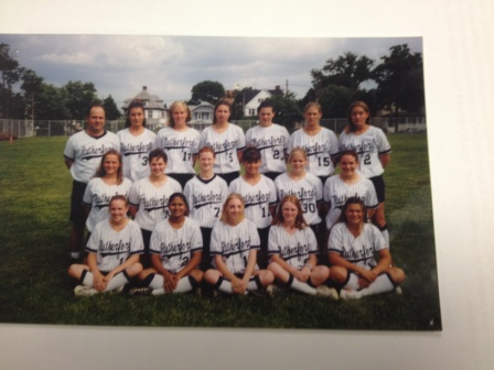 Mr. Arlotta and his softball team.