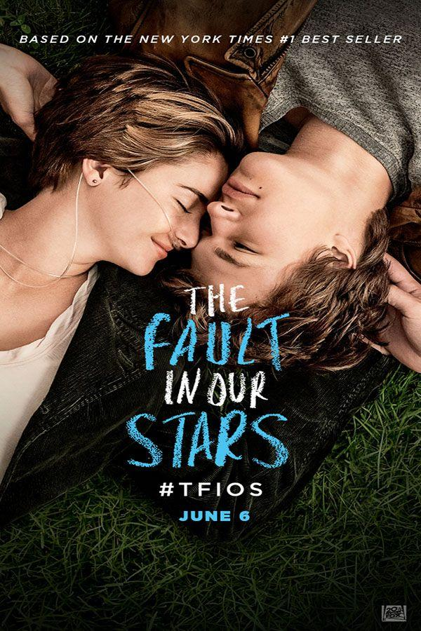 Official movie poster for The Fault In Our Stars. The film was released on June 6th.