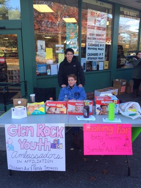 Despite the cold, Kevin and Matt had a successful day and brought all their donations to the Children's Aid and Family Services headquarters later that day.
