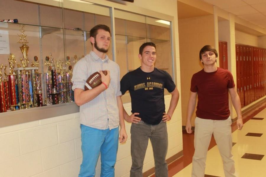 Junior Starting Wide Receiver Tommy Pulzello, Senior Starting Quarterback Brady Miller, and Sophomore Starting Running Back Ryan Dooner brought the Panthers to a regular season 7-2 record