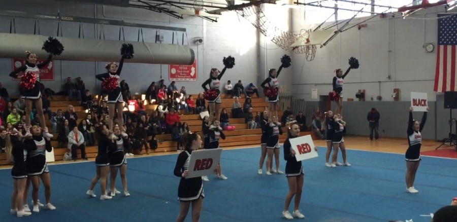 Cheerleaders+compete+at+a+fall+competition.+