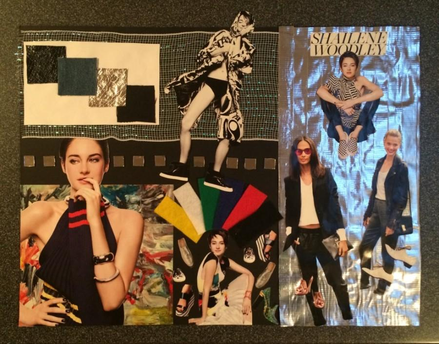 One of many mood boards Mancuso creates from style inspirations.