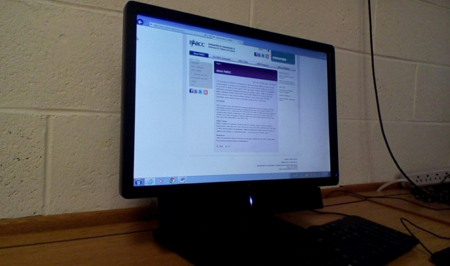 The PARCC tests will be administered on the computer which may pose some challenges for students.