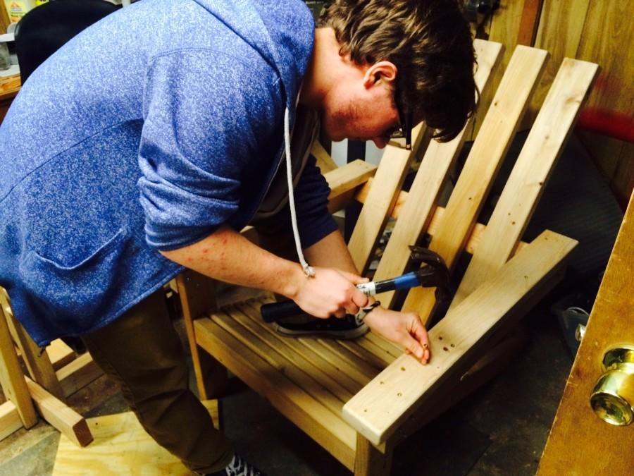 Hammer time: Welcome to Kyle O'Connell's woodworking workshop