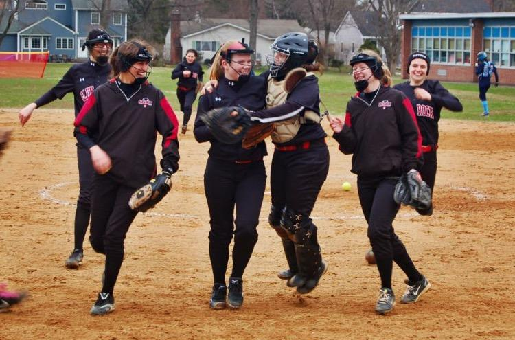 Senior%2C+Kate+Kelly%2C+is+sad+to+leave+Glen+Rock+softball+behind+but+is+excited+to+continue+the+season+this+year.+