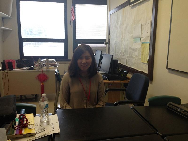 Ms. Yu is the new Mandarin Chinese teacher.