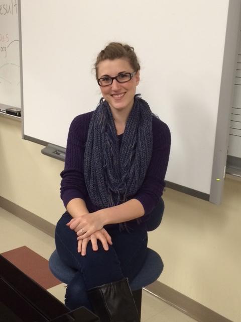 New+choir+teacher%2C+Rachel+Beeksma%2C+joined+the+GRHS+faculty+this+year.