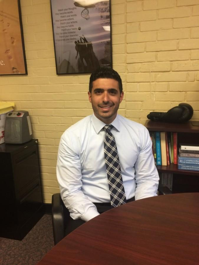 Mr. Michael Pasciuto learned from interim assistant principal Mr. Daniel Di Guglielmo at the end of the 2014-2015 school year.