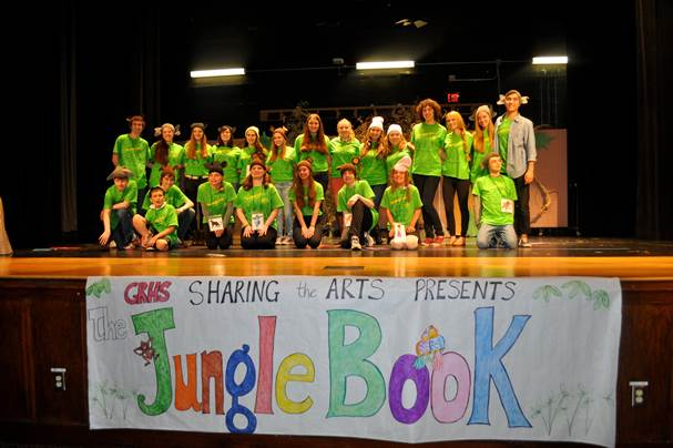 Sharing of the Arts's performance of the Jungle Book in 2015.